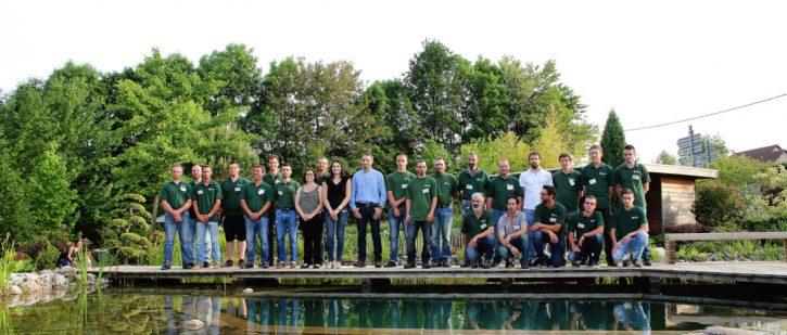 Equipe Rebeyrol créateur de jardins, Equipe Rebeyrol soin des jardins, Equipe de professionnel