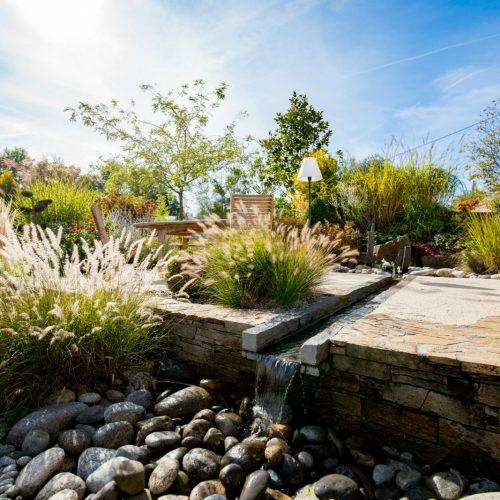 terrasse limoges, création terrasse limoges, aménagement de jardin limoges, fontaine limoges, paysagiste limoges