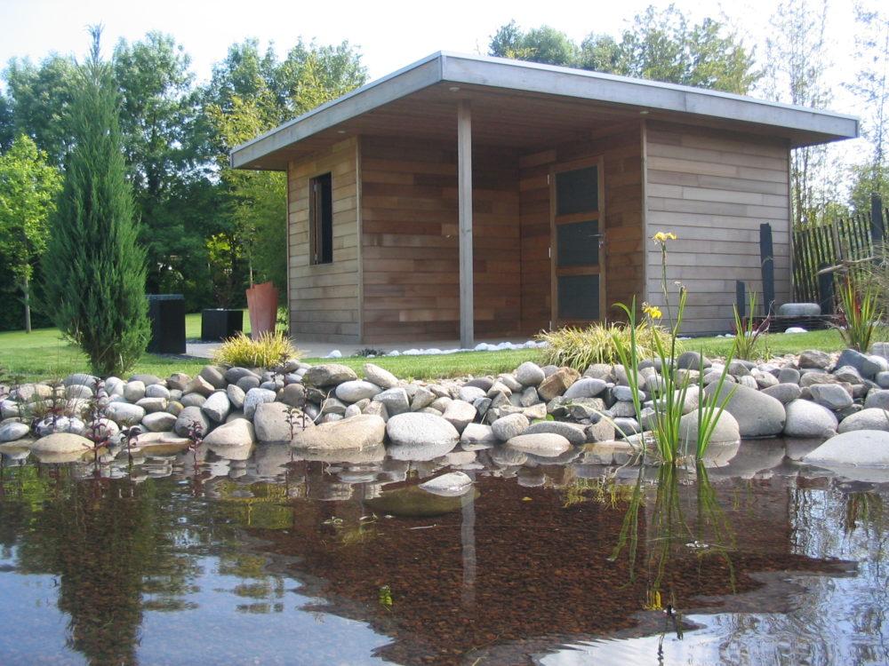 Abri de jardin poolhouse moderne - Abris de jardin - poolhouse