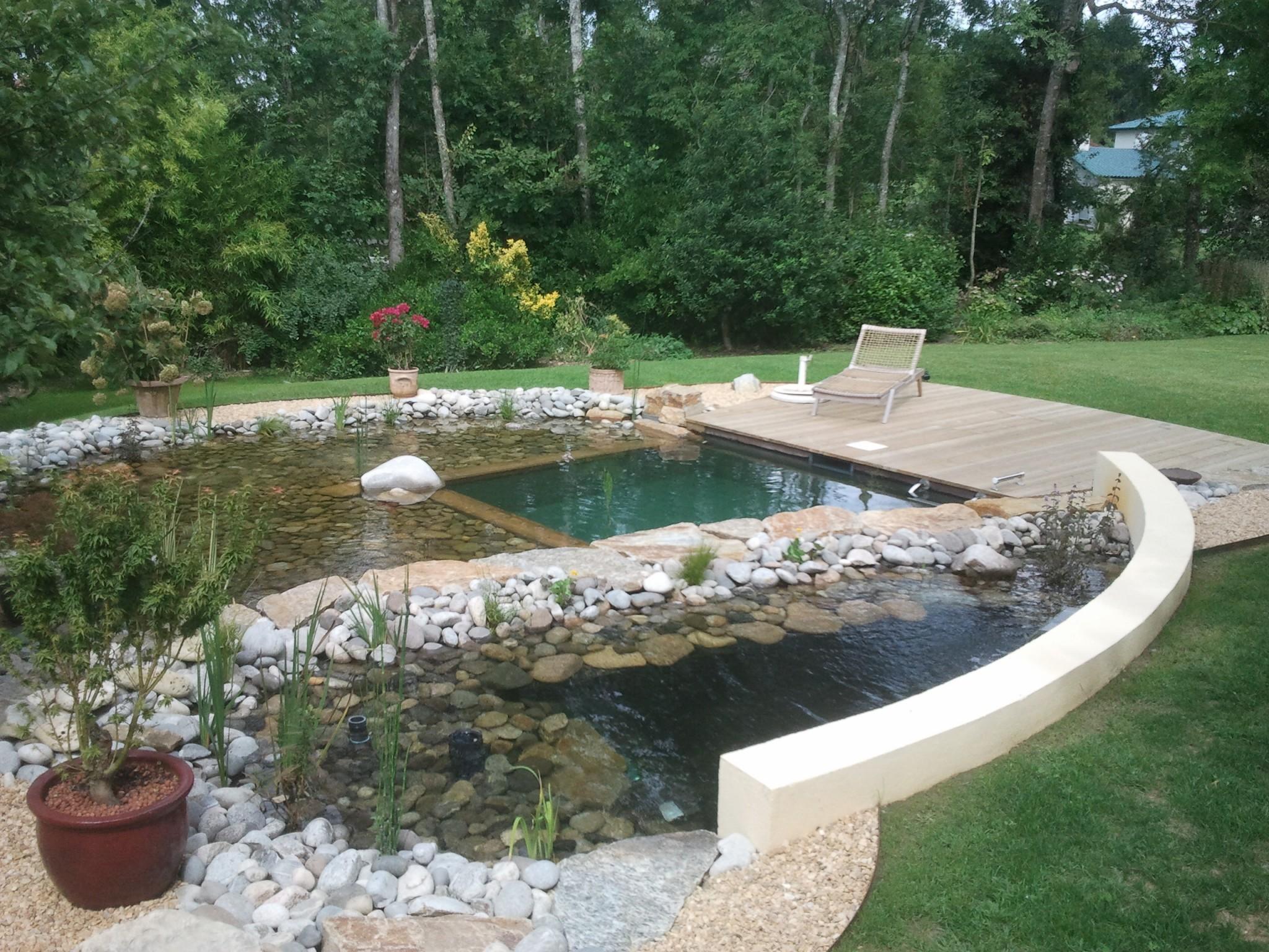 Bassin de piscine des id es pour le style de maison for Bassin piscine