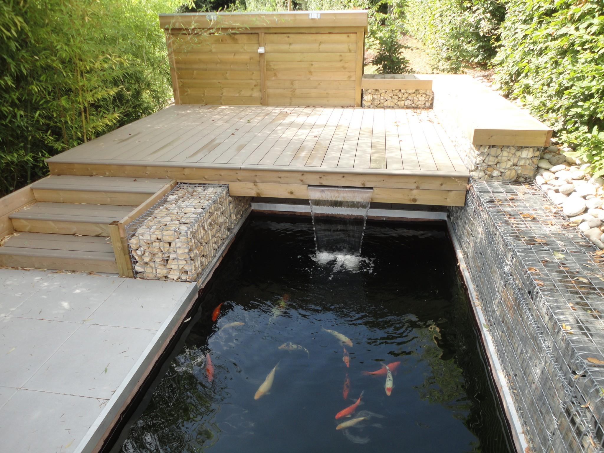Notre jardin d 39 exposition permanente rebeyrol for Petit bassin de terrasse