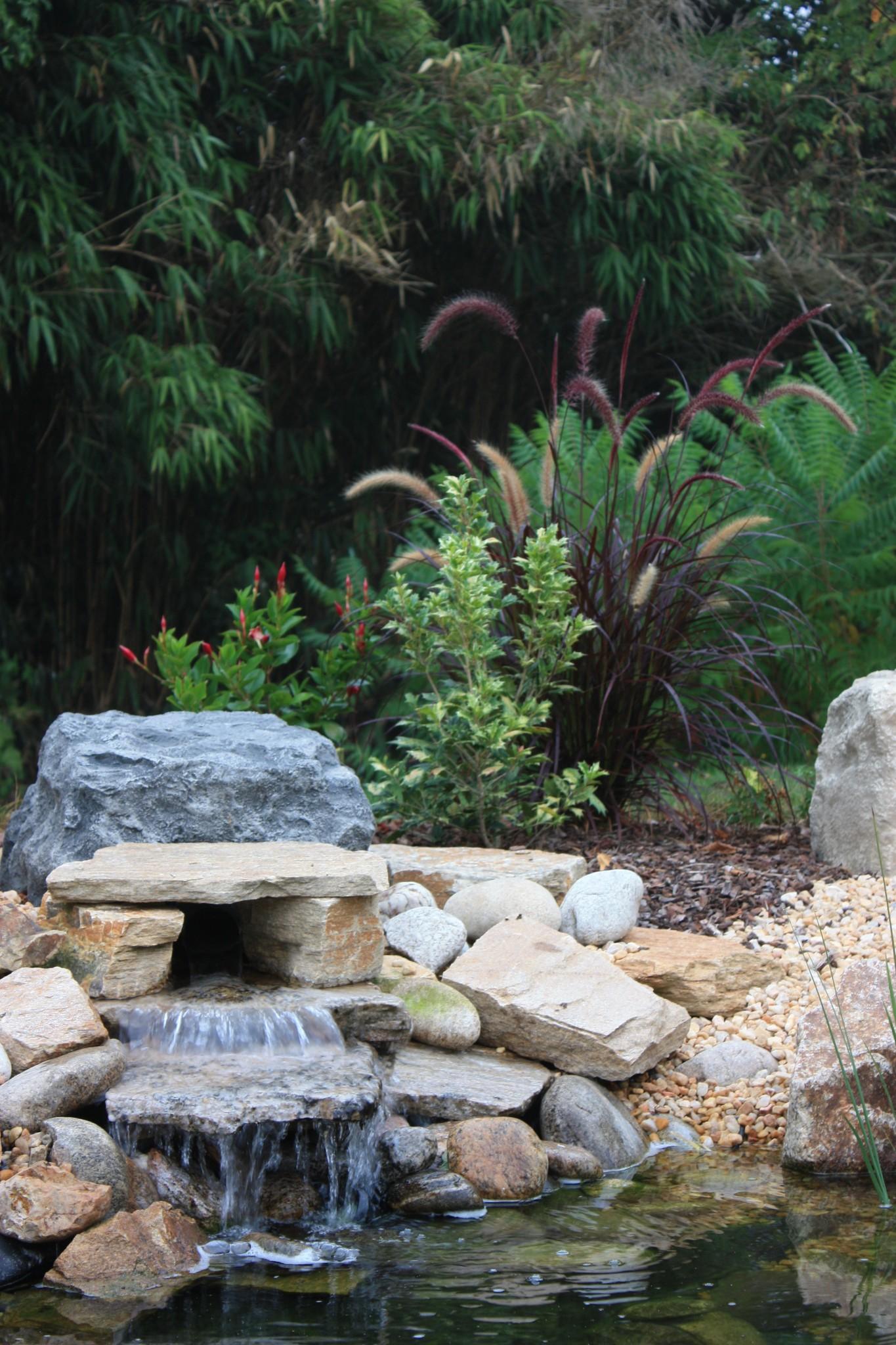 Bassin en pierres