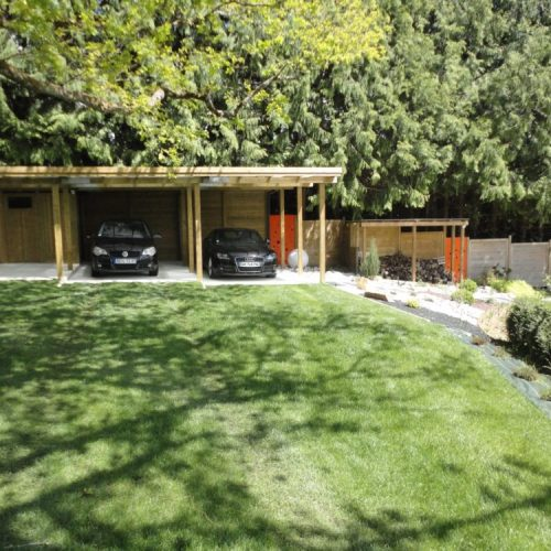 Abri de voiture – Carport en bois