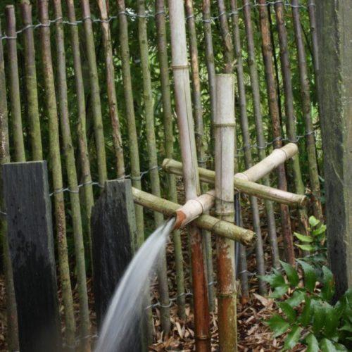Fontaine japonaise bambou