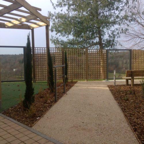 Jardin thérapeutique maison de retraite Limoges