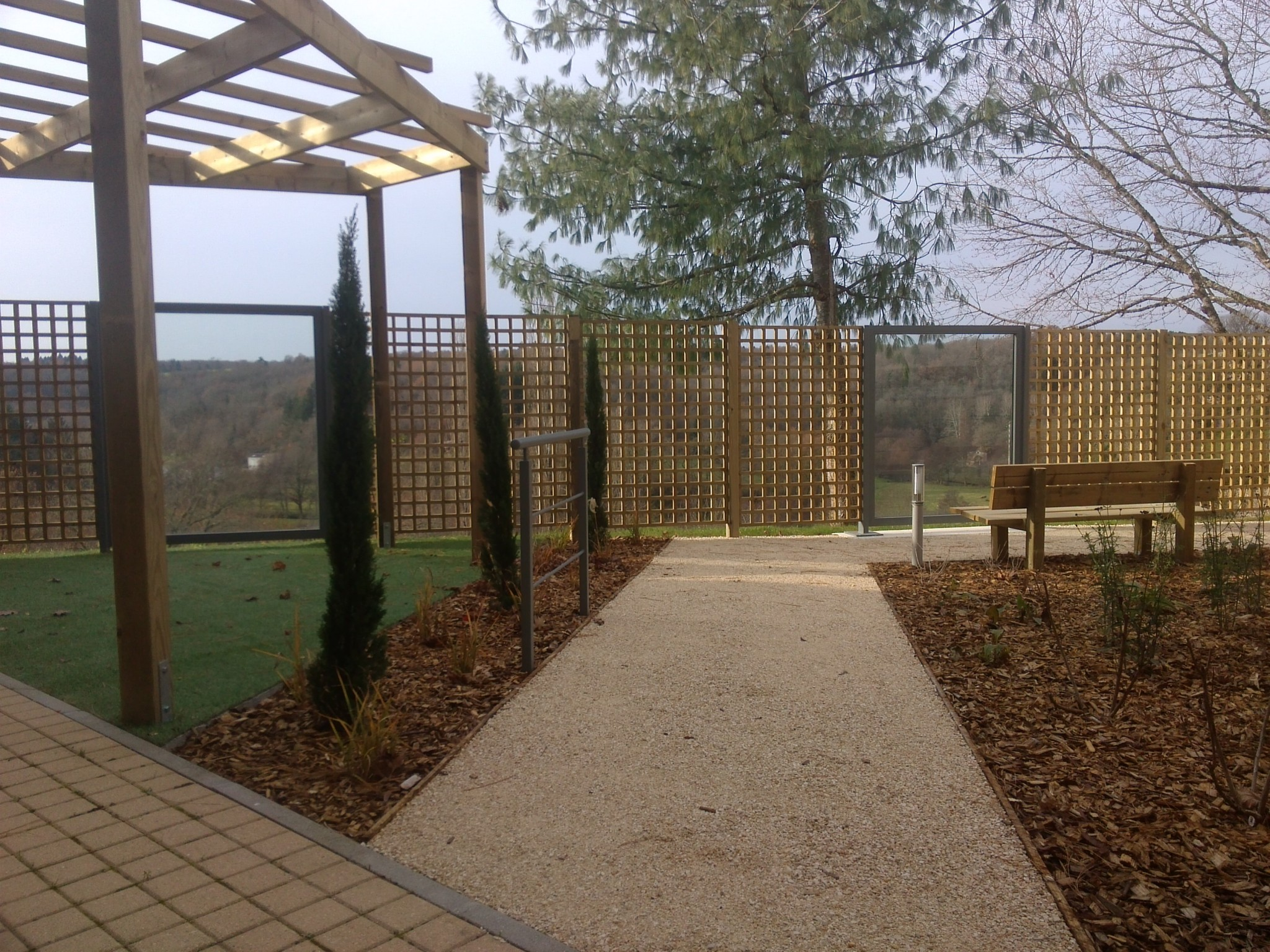 Brise vue rebeyrol for Jardin therapeutique