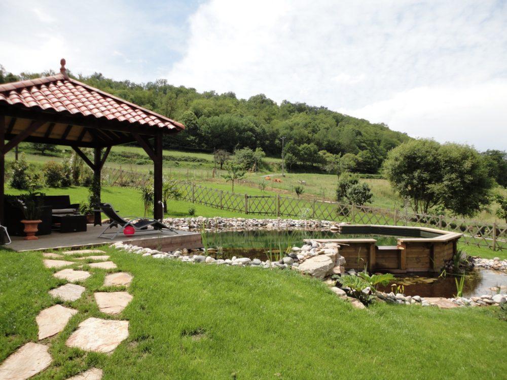 Kiosque bois tonnelle terrasse - Kiosque en bois sur terrasse