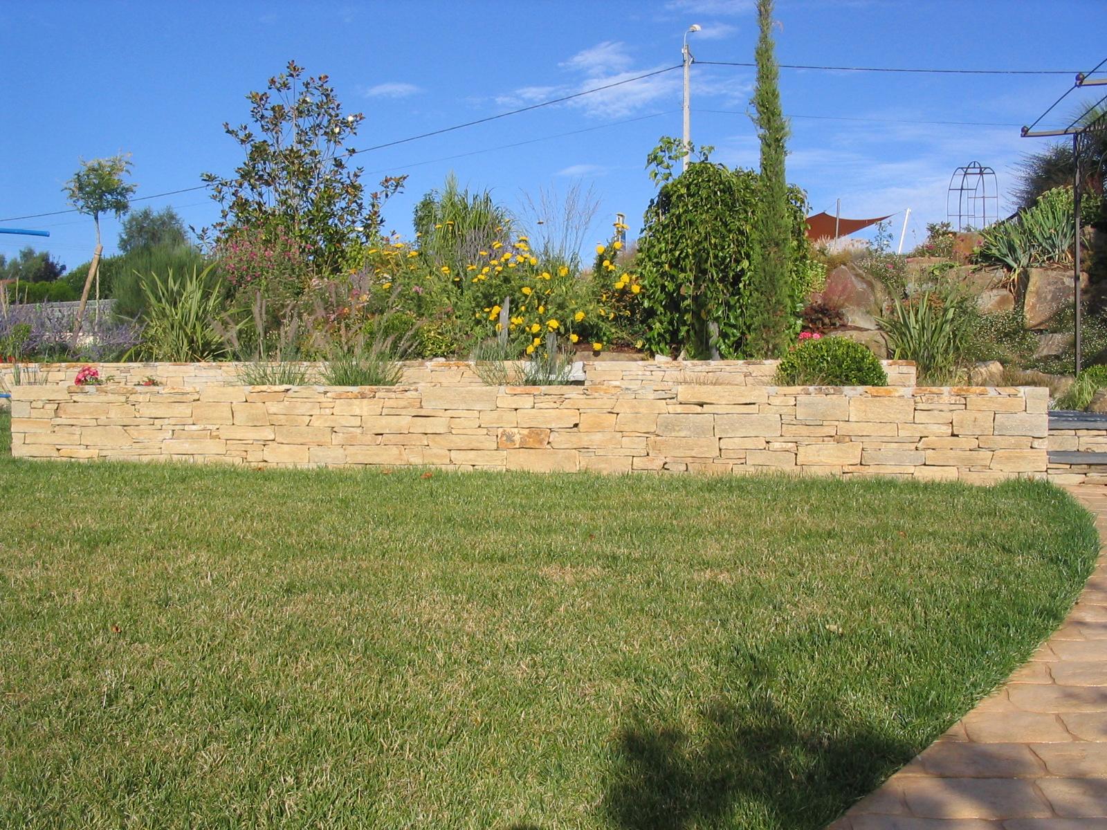 Muret pierre sèche Limoges