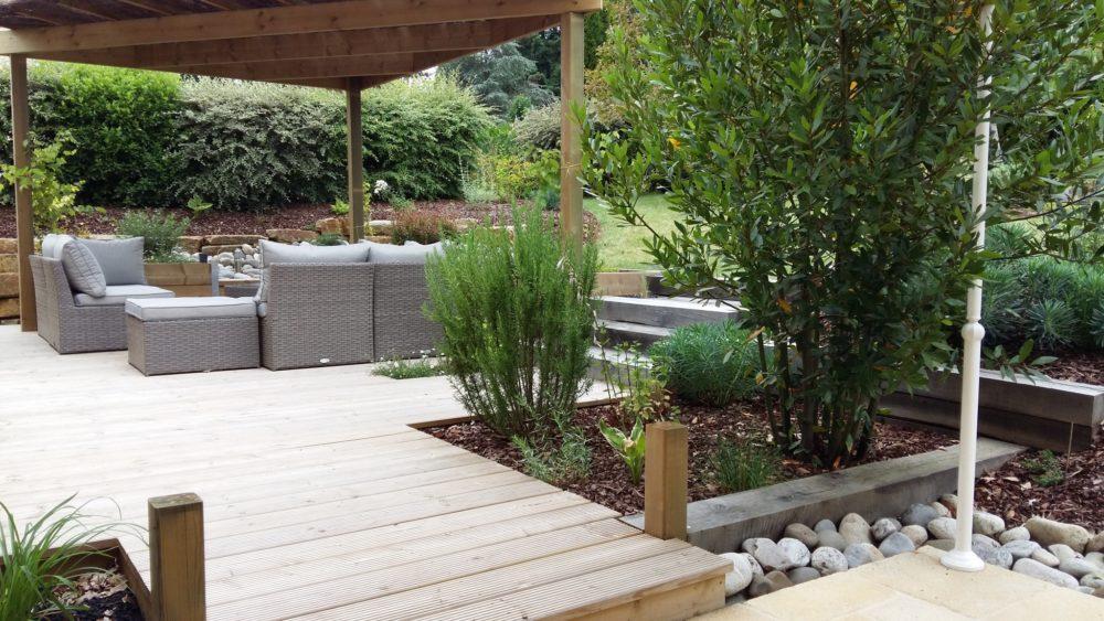 Pergola bois terrasse tonnelle - Pergola en bois