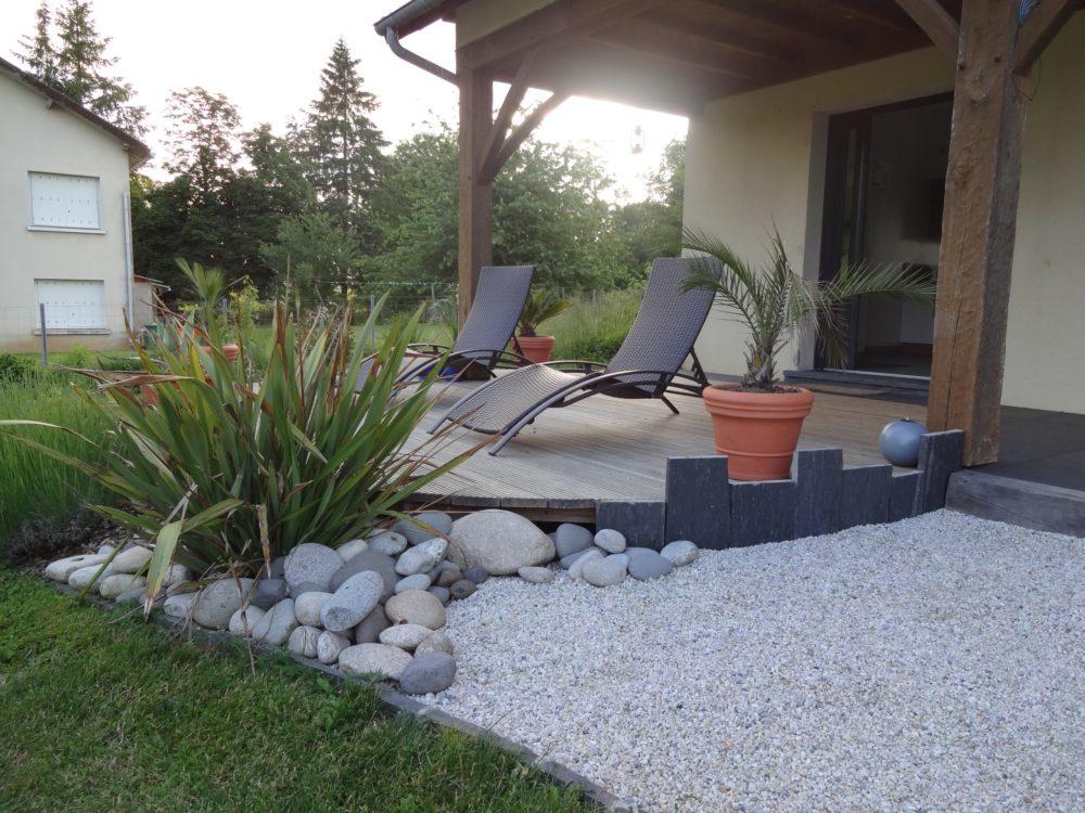 amenagement jardin terrasse bois affordable terrasse bois. Black Bedroom Furniture Sets. Home Design Ideas