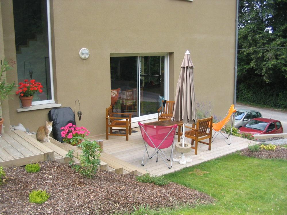 terrasse bois limoges. Black Bedroom Furniture Sets. Home Design Ideas