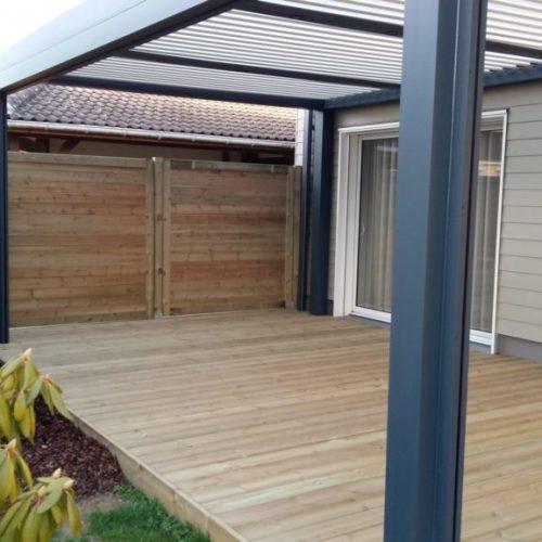 abri terrasse bois affordable cool pergola en bois terrasse en bois with abri de terrasse en. Black Bedroom Furniture Sets. Home Design Ideas