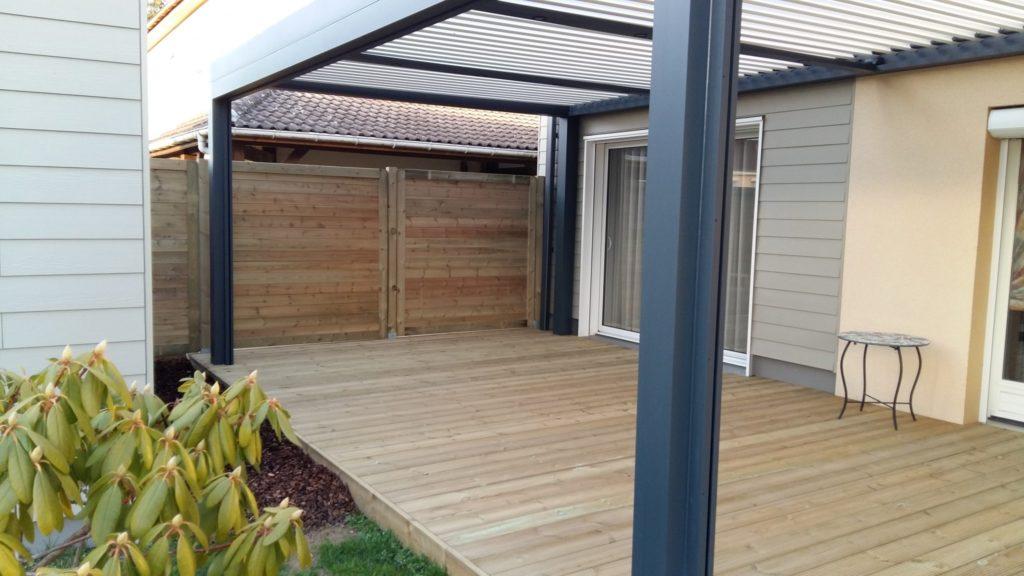 abri de terrasse en bois perfect structure autoporte en bois vercors m with abri de terrasse en. Black Bedroom Furniture Sets. Home Design Ideas