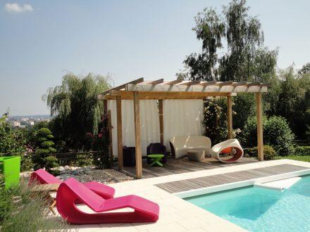 Rebeyrol créateur de jardin, aménagement de jardin limoges, jardin contemporain limoges
