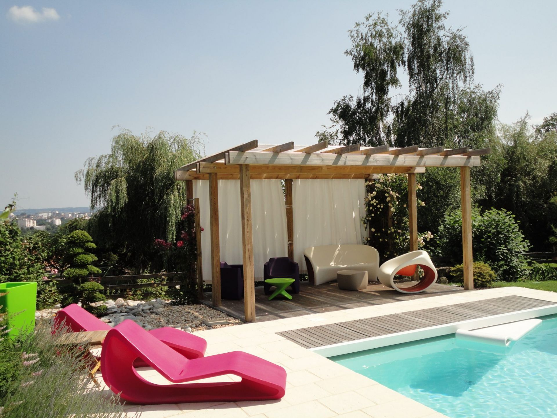 Rebeyrol créateur de jardin, terrasse, piscine, aménagement de jardin