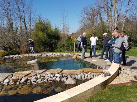 Rebeyrol créateur de jardins, bassin de baignade