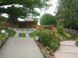 Carport, Rebeyrol Créateur de Jardins, abris de jardin, aménagement de jardin, limoges, 87